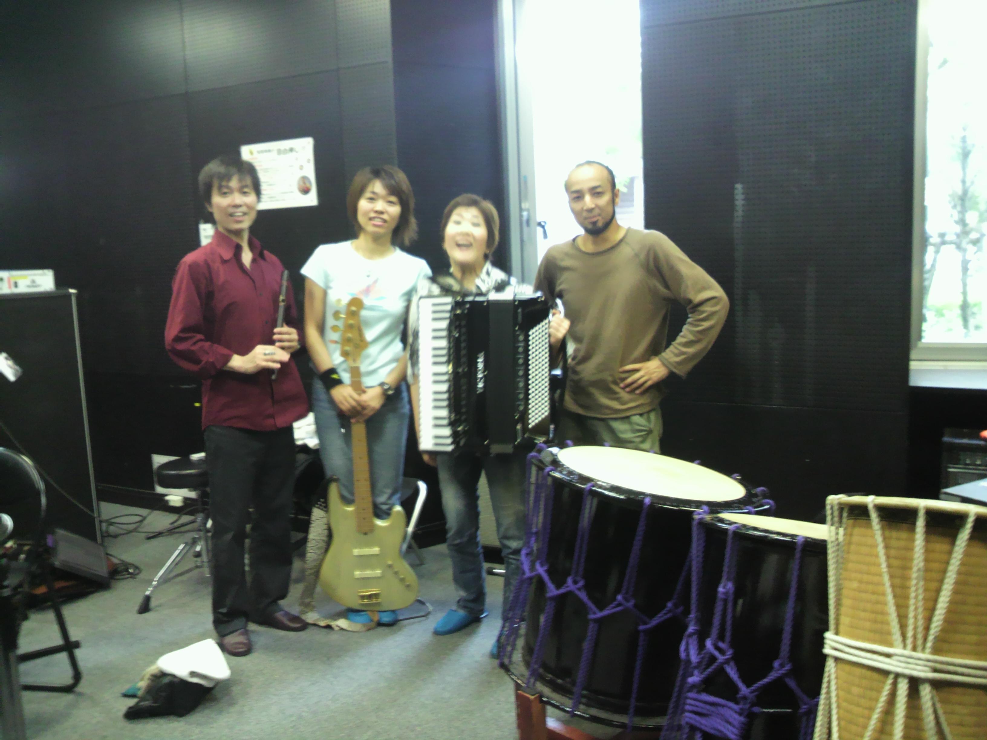 出口煌玲・廣田昌世・後藤ミホコ・夕田敏博の写真