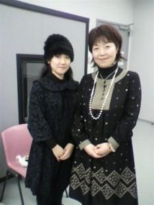 2010年12月26日-相曽晴日さん(右)